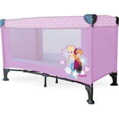 Disney Rozkládací postýlka pro miminka Snow Queen