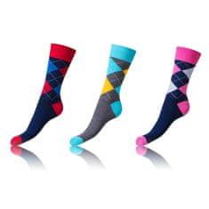 Bellinda set veselých ponožek CRAZY SOCKS 3 ks