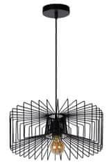 LUCIDE JUR Závesná lampa E27/40W Ø38cm Black