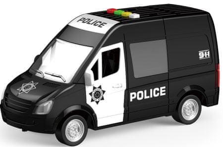Lamps Auto polícia batérie