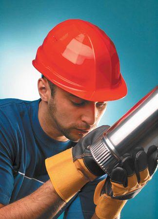 Lockweiler Ochranná pracovní přilba LAS S17 červená