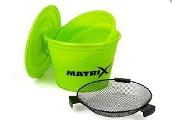 Matrix Kbelík Bucket set inc tray Lime