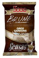 Sensas krmení 3000 Brune Gross Gardons (velká plotice-hnědá) 1kg