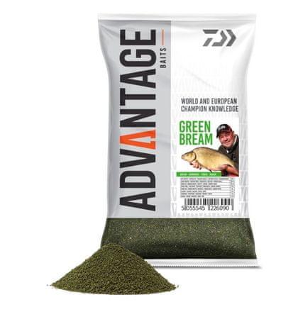 Daiwa Krmítková směs Advantage Groundbait Green Bream 1kg