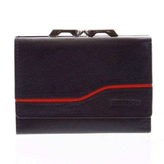 Bellugio Dámská kožená peněženka Nataša černá