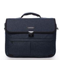 Roncato Pánská pracovní taška Manuel modrá