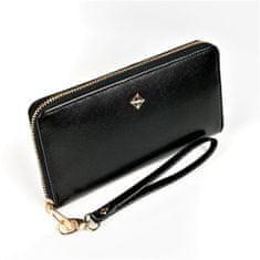 Lorenti Dámská černá peněženka na zip