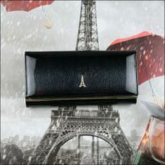 Lorenti Dámská kožená lakovaná peněženka Lumière X, černá