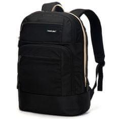 Travel plus Městský batoh na notebook Travel Plus, černý