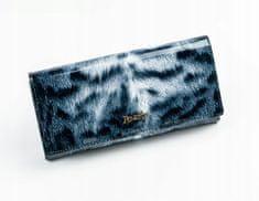 Rovicky Impozantní kožená dámská peněženka Felicita červno-bílá