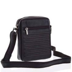 Always Wild Pánská stylová kožená taška Dalimil černá