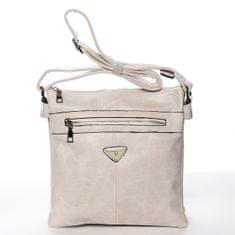Romina & Co. Bags Praktická dámská crossbody kabelka Erika, smetanová