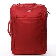 Roncato Cestovní textilní zavazadlo Alfredo Ciak Roncato červený