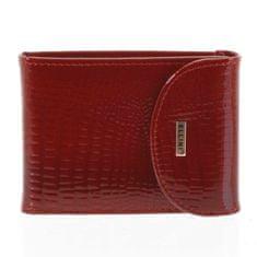 Ellini Dámská kožená peněženka Erika červená