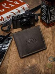 Always Wild Exkluzivní pánská kožená peněženka Vance, hnědá