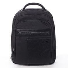 Roncato Stylový pánský pracovní/školní batoh Amadeo černý