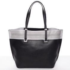 Tommasini Trendy dámská kabelka přes raameno Tommasini GENEVIEVE, černá