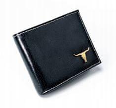 Buffalo Wild Pánská peněženka z přírodní kůže Trevor, černá
