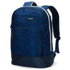 Travel plus Městský batoh na notebook Travel Plus, modrý