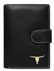 Buffalo Wild Pánská moderní kožená peněženka Randy, černá