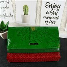 Cavaldi Exkluzivní kožená peněženka Trina, zelená