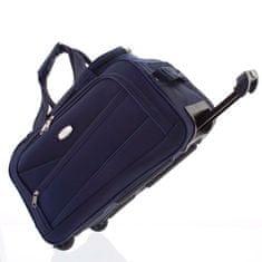 ORMI Praktická pevná taška na 2. kolečkách, velikost I, modrá