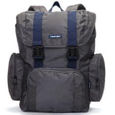 Travel plus Velký multifunkční batoh Travel plus, šedý