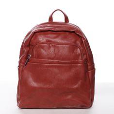 Silvia Rosa Praktický batoh Silvia Rosa Caterina, červený