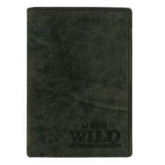 Always Wild Business pánská kožená peněženka zelená Ivo
