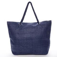 Bellugio Plážová taška Seaside modrá