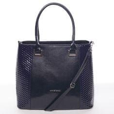 Annie Claire Modrá elegantní dámská kabelka Larisa