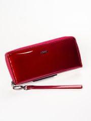 Lorenti Exkluzivní dámská peněženka z kůže Elia, červená