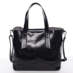 Silvia Rosa Elegantní dámská kabelka do ruky Paula, černá