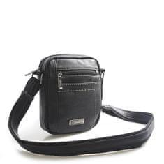 Bellugio Pánská taška přes rameno Raybe, černá