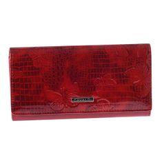 Cavaldi Dámská kožená peněženka červená Trinidad