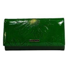 Cavaldi Kožená dámská zelená peněženka Yvonne
