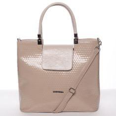 Annie Claire Dámská kabelka do ruky Marisa, béžová