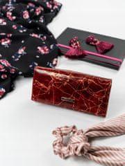 Lorenti Elegantní kožená peněženka Rio, červená