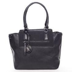 Maria C. Luxusní kabelka přes rameno Milia, černá