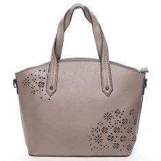 Dudlin Elegantní módní kabelka Alma, kávová