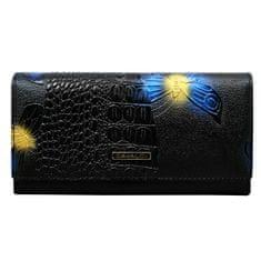 Cavaldi Kožená peněženka Cavaldi Juana, modrá