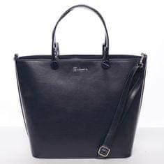Delami Atraktivní kabelka Helen, modrá hladká