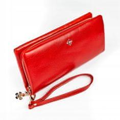 Lorenti Designová peněženka Jenny, červená