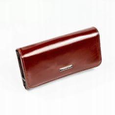 Lorenti Delší jemná peněženka z hnědé kůže Dea