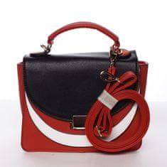 Dudlin Podmanivá dámská kabelka Lesana červená