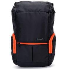 Travel plus Originální cestovní a školní batoh Travel plus, modro-oranžový