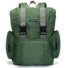 Travel plus Velký multifunkční batoh Travel plus, zelený