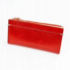 Lorenti Větší šikovná dámská peněženka Milan, světle červená