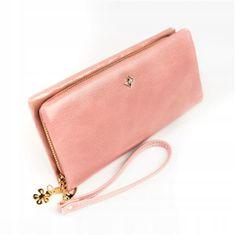 Lorenti Designová peněženka Jenny, růžová