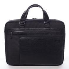 Roncato Stylová pracovní pánská taška Aguiles Ciak Roncato černá